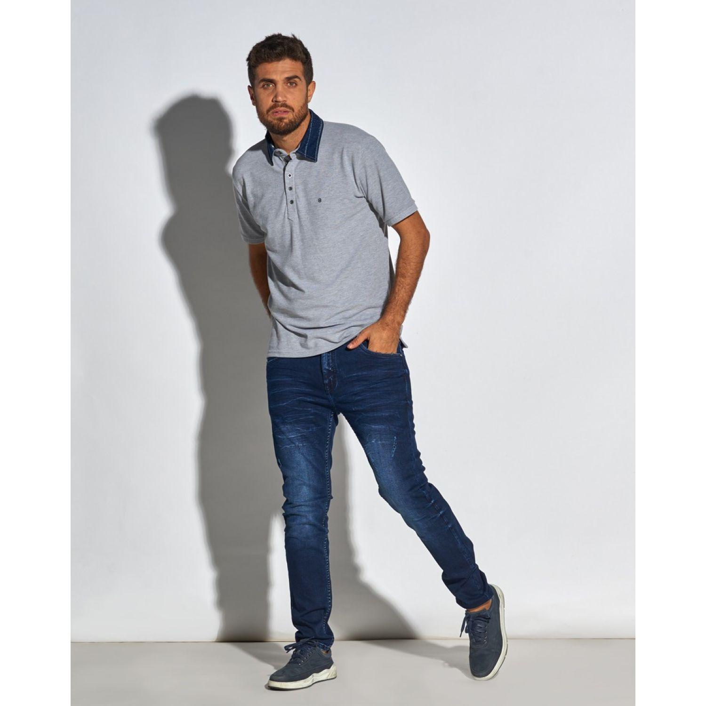 Octo Denim Co Jean Skinny Ignacio Azul Casual