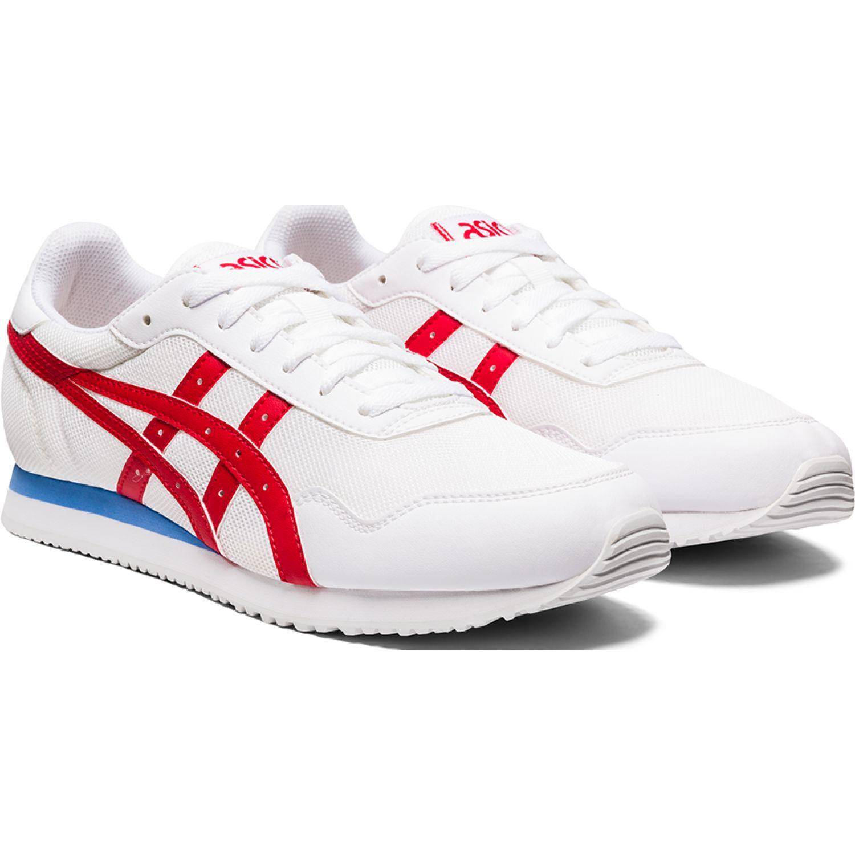 Asics Tiger Runner Blanco / rojo Para caminar