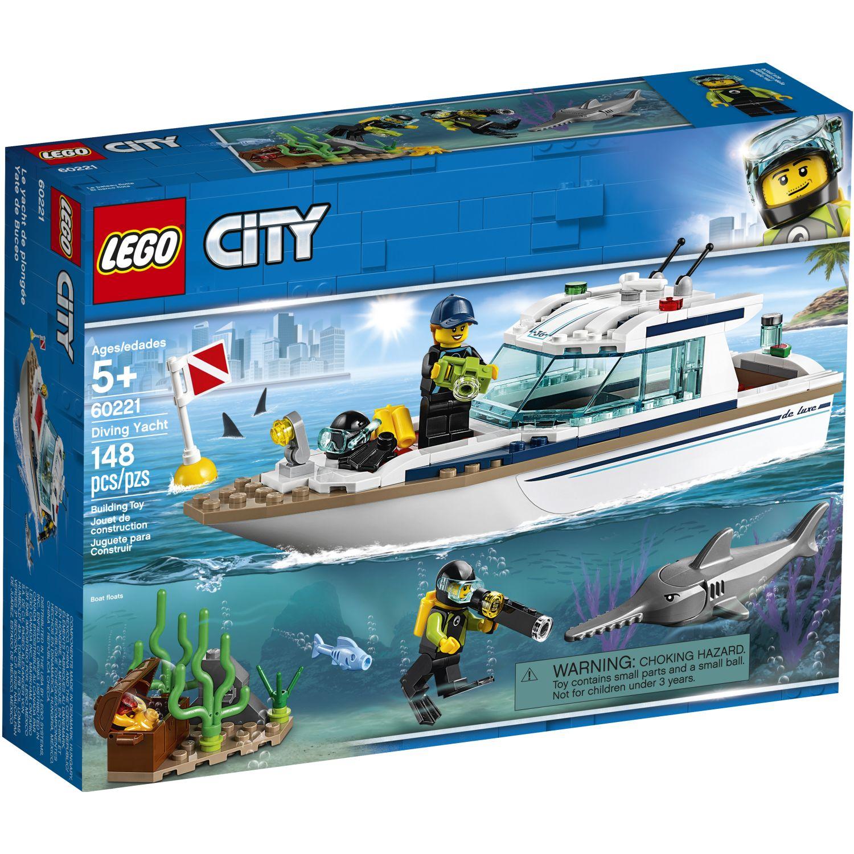 Lego Yate De Buceo Varios Juegos de construcción