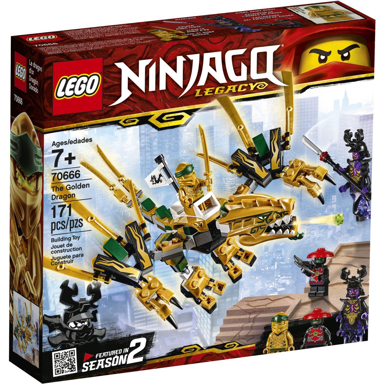 Lego DRAGÓN DORADO Varios Juegos de construcción