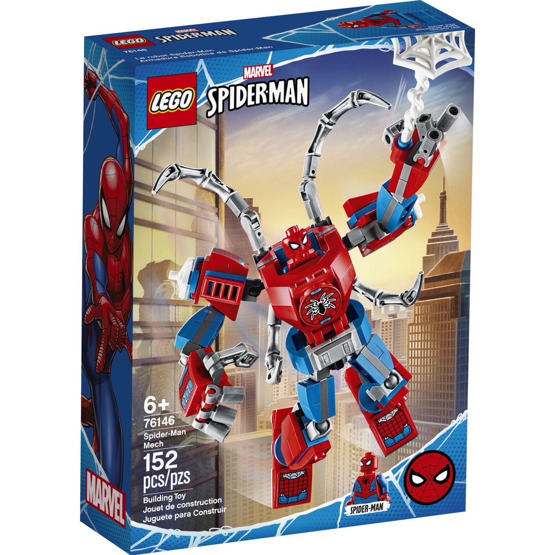 Lego MECH SPIDERMAN Varios Juegos de Construcción