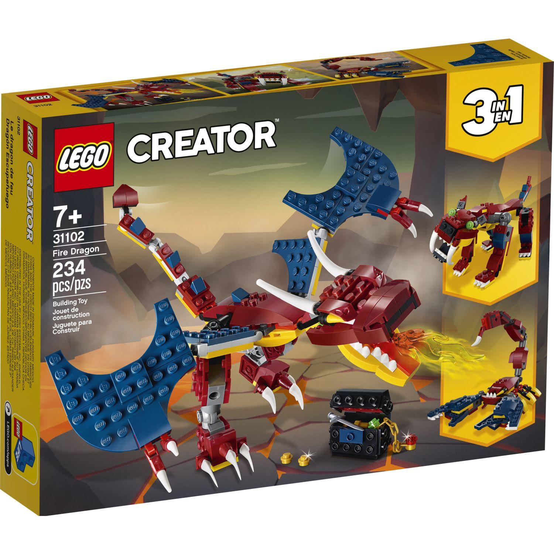 Lego DRAGON DE FUEGO Varios Juegos de construcción