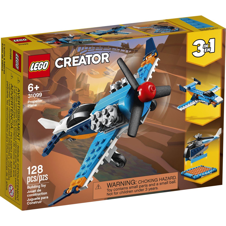 Lego Avion De Helices Varios Juegos de construcción
