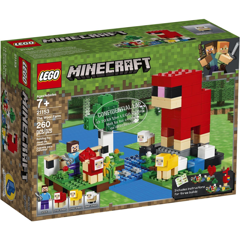 Lego LA GRANJA DE LANA Varios Juegos de Construcción