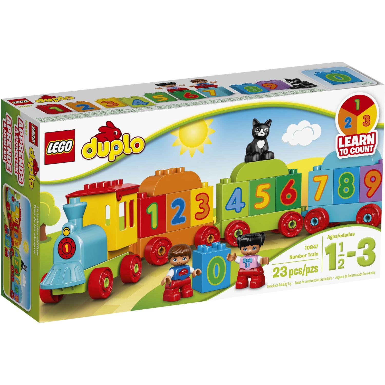 Lego TREN DE LOS NÚMEROS Varios Juegos de construcción