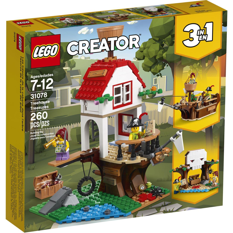 Lego TESOROS DE LA CASA DEL ÁRBOL Varios Juegos de construcción