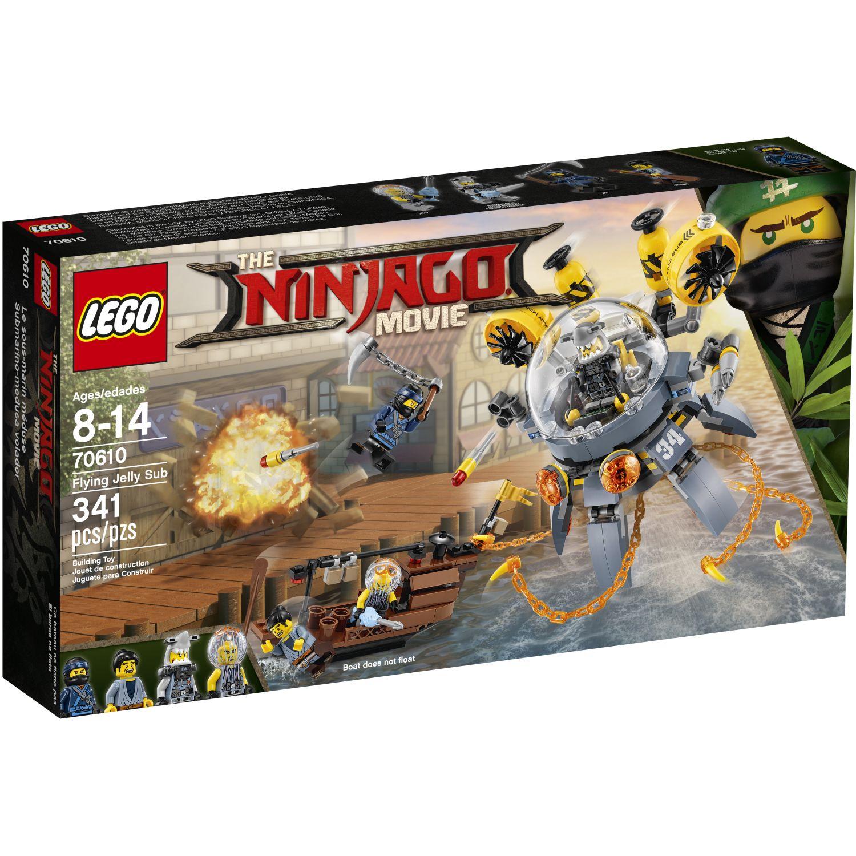 Lego Submarino-Medusa Volador Varios Juegos de construcción