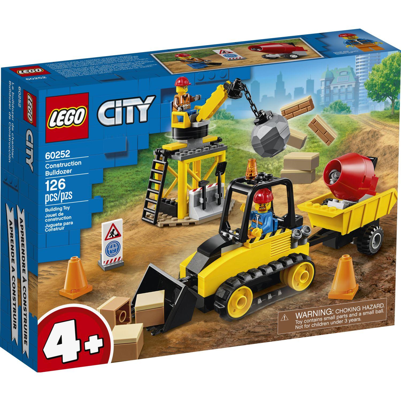 Lego BULLDOZER DE CONSTRUCCIÓN Varios Juegos de construcción