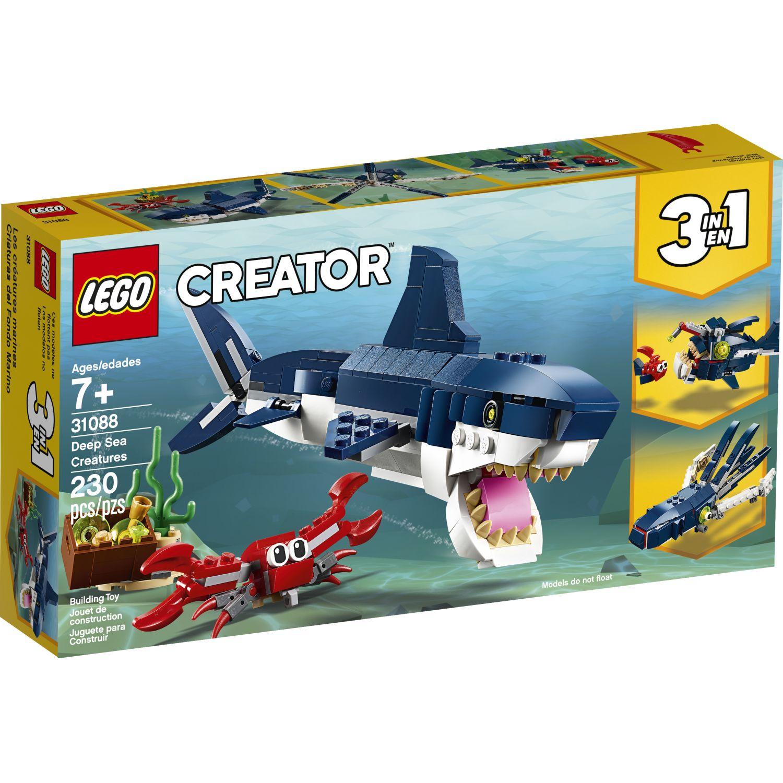 Lego CRIATURAS DEL FONDO MARINO Varios Juegos de construcción