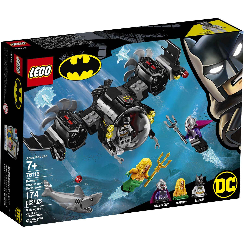 Lego Set Super Heroes Batman Vehiculo Acuat Varios Juegos de construcción