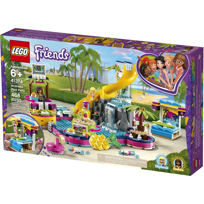 Lego FIESTA EN LA PISCINA DE ANDREA Varios Juegos de Construcción