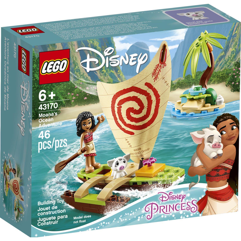 Lego Aventura En El Oceano Con Moana Varios Juegos de Construcción