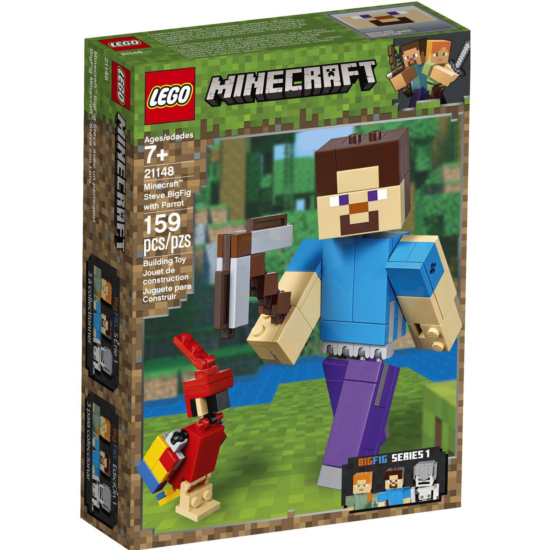 Lego Bigfig Minecraft: Steve Con Loro Varios Juegos de construcción
