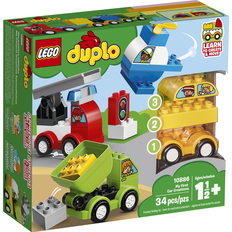 Lego MIS PRIMERAS CREACIONES AUTOMOVIL Varios Juegos de construcción
