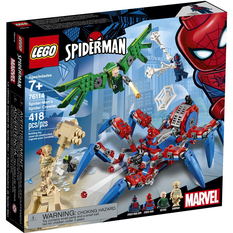 Lego SET SUPER HEROES VEHICULO ARACNIDO Varios Juegos de construcción