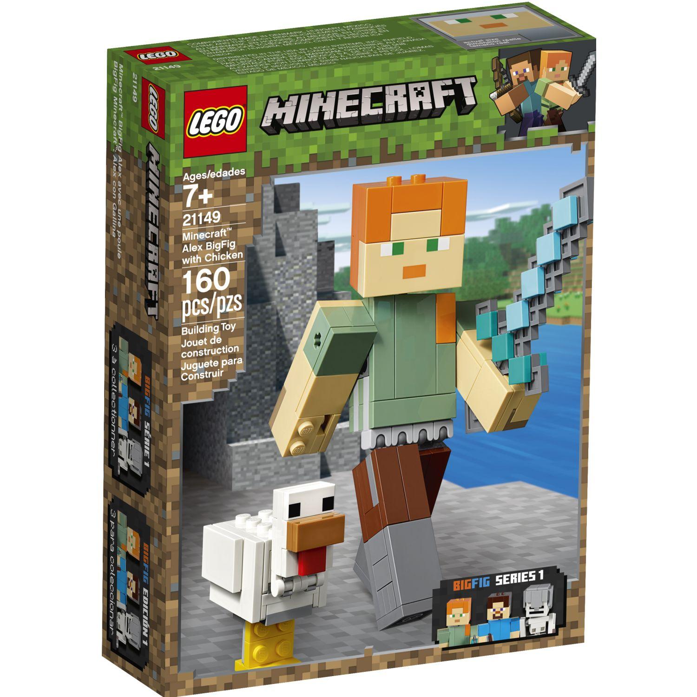 Lego BIGFIG MINECRAFT: ALEX CON GALLINA Varios Juegos de construcción