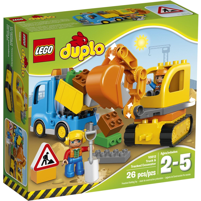 Lego Camión Y Excavadora Con Orugas V39 Varios Juegos de construcción