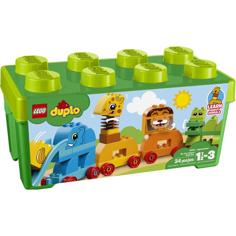 Lego Caja De Ladrillos: Mis Primeros Anim Varios Juegos de construcción