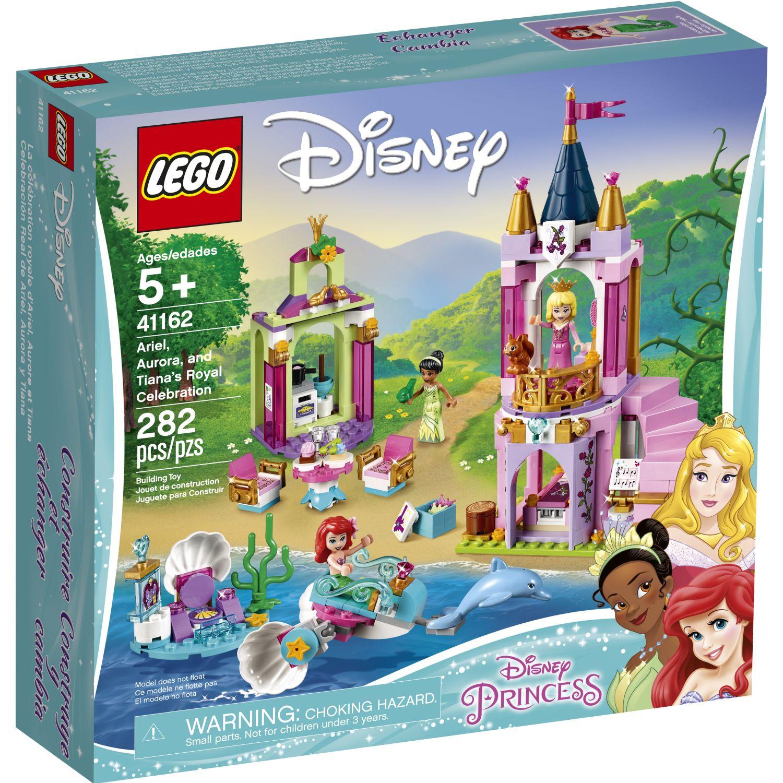 Lego Celebración Real Ariel, Aurora Y Tiana Varios Juegos de construcción