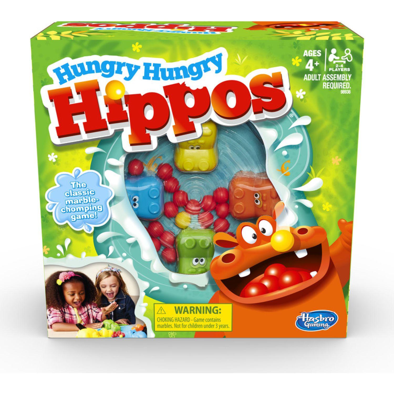 HASBRO GAMING Hungry Hungry Hippos Varios Física