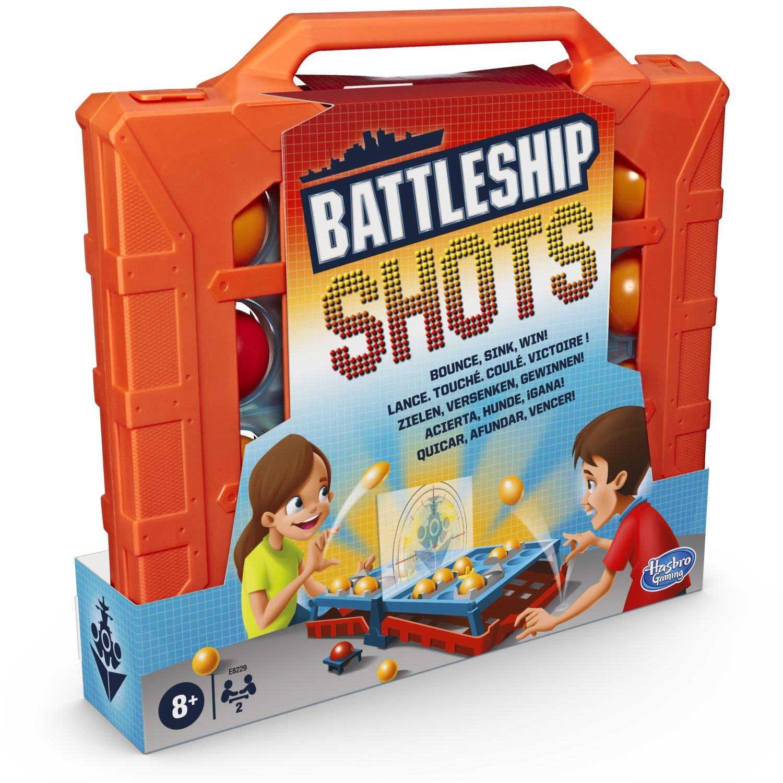 HASBRO GAMING BATTLESHIP SHOTS Varios Juegos de mesa