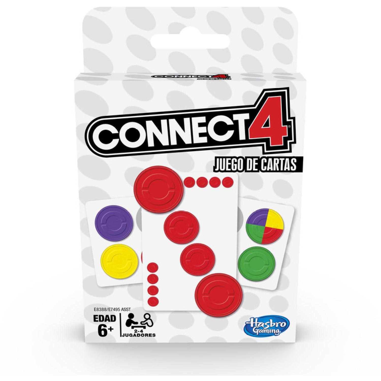 HASBRO GAMING Classic Card Games Connect 4 Varios Juegos de mesa