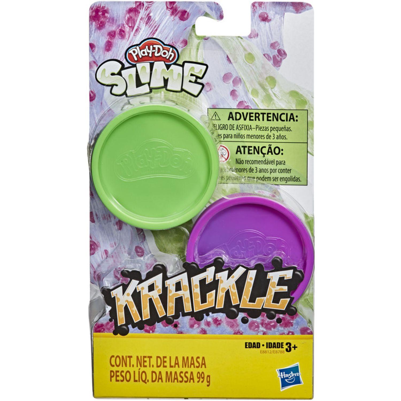 PLAY-DOH Pd Krackle Green Bluepink Varios Modelado y escultura