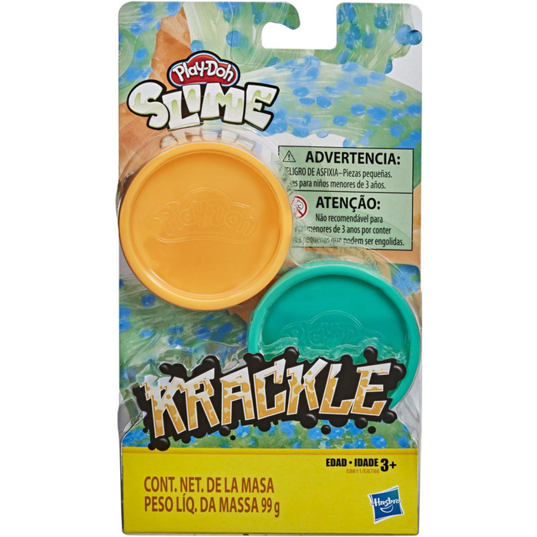 PLAY-DOH Pd Krackle Orange Greenblue Varios Modelado y Escultura