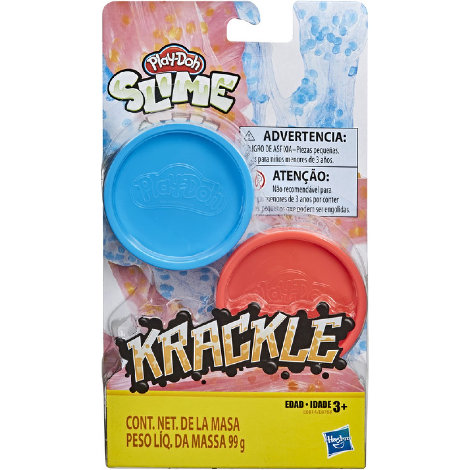 PLAY-DOH Pd Krackle Blue Pink Orange Varios Modelado y Escultura