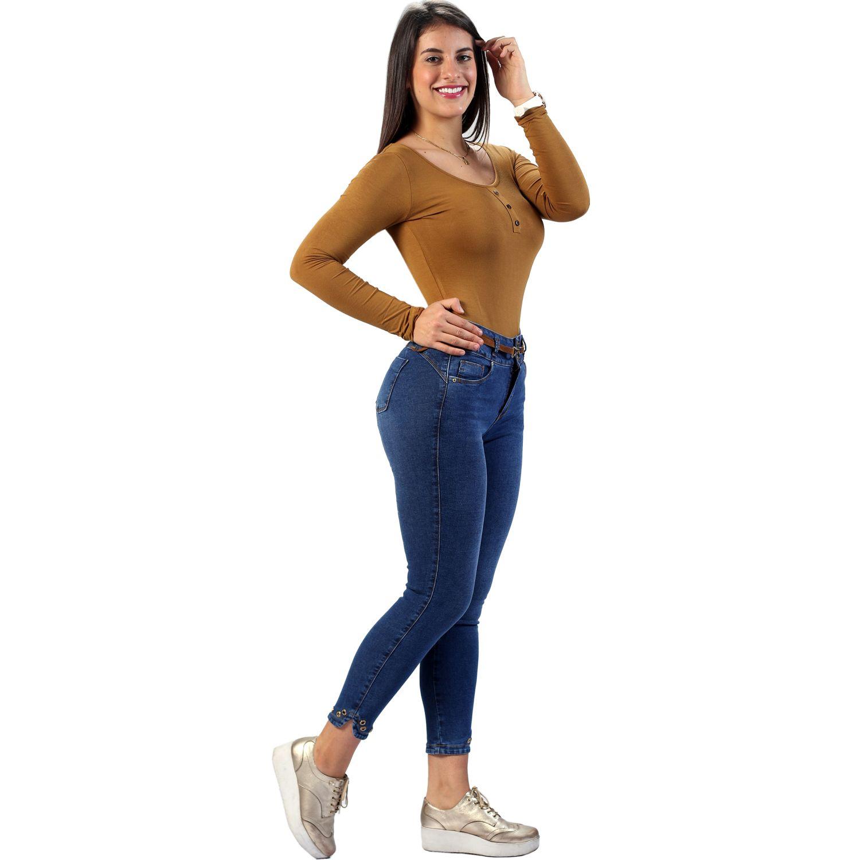FORDAN JEANS Pantalon Cinturapitillo 0822 Bastaoval STONE BLUE Casual
