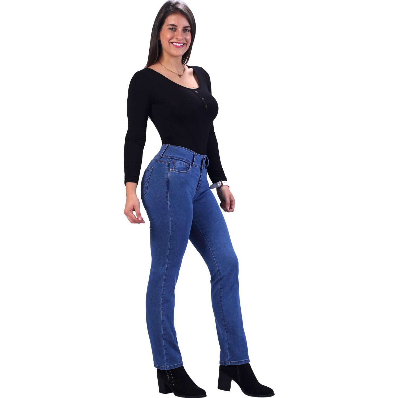 FORDAN JEANS Pantalon Clasico 0628 Semicadera Recto USED WASH Casual