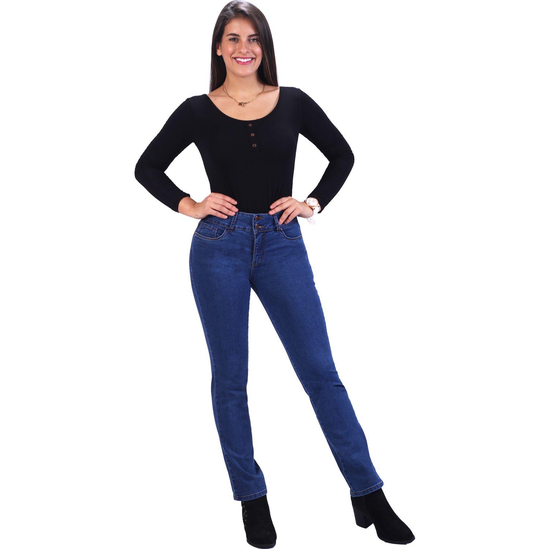 FORDAN JEANS Pantalon Clasico 0628 Semicadera Recto STONE WASH Casual