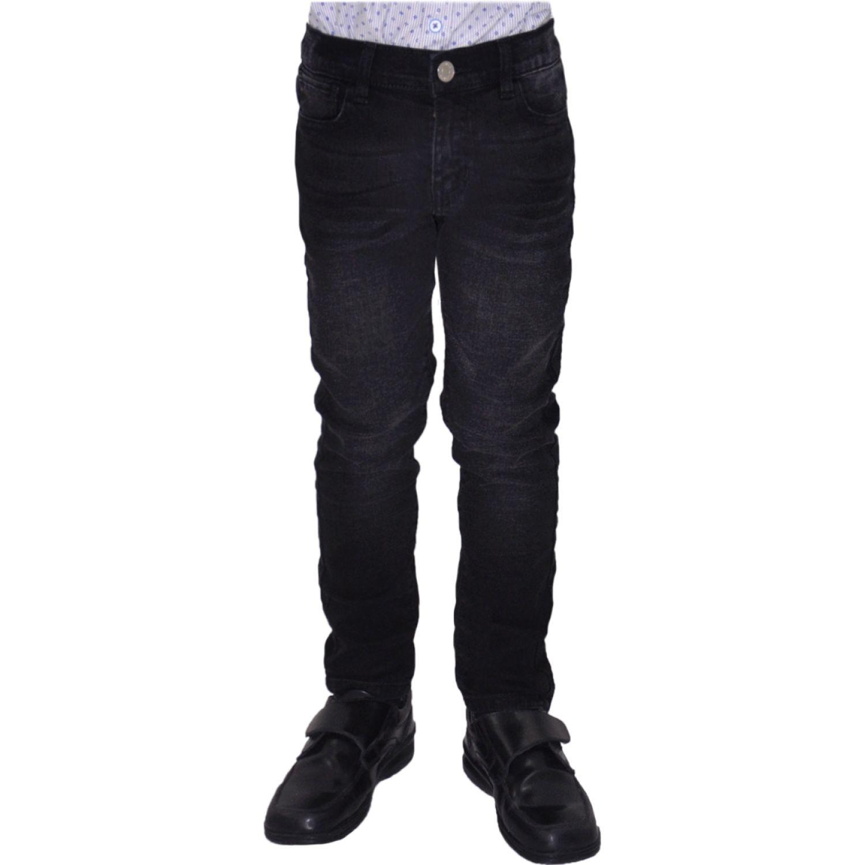 COTTONS JEANS Cocoliso Negro Pantalones