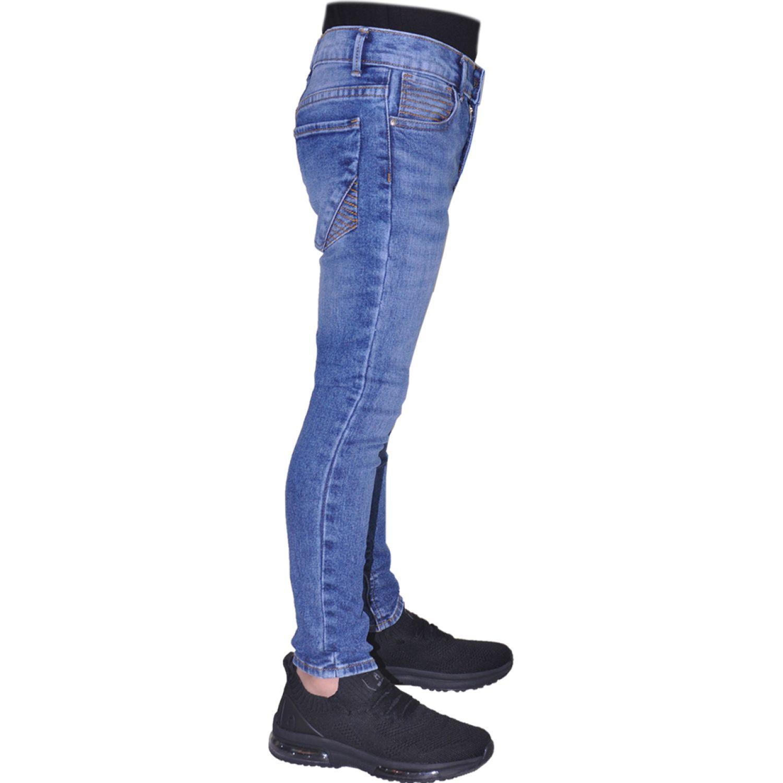 COTTONS JEANS Franco Azul Pantalones