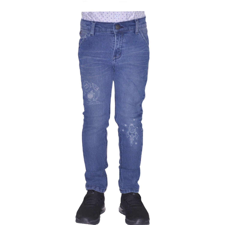 COTTONS JEANS Gabriel Azul Pantalones