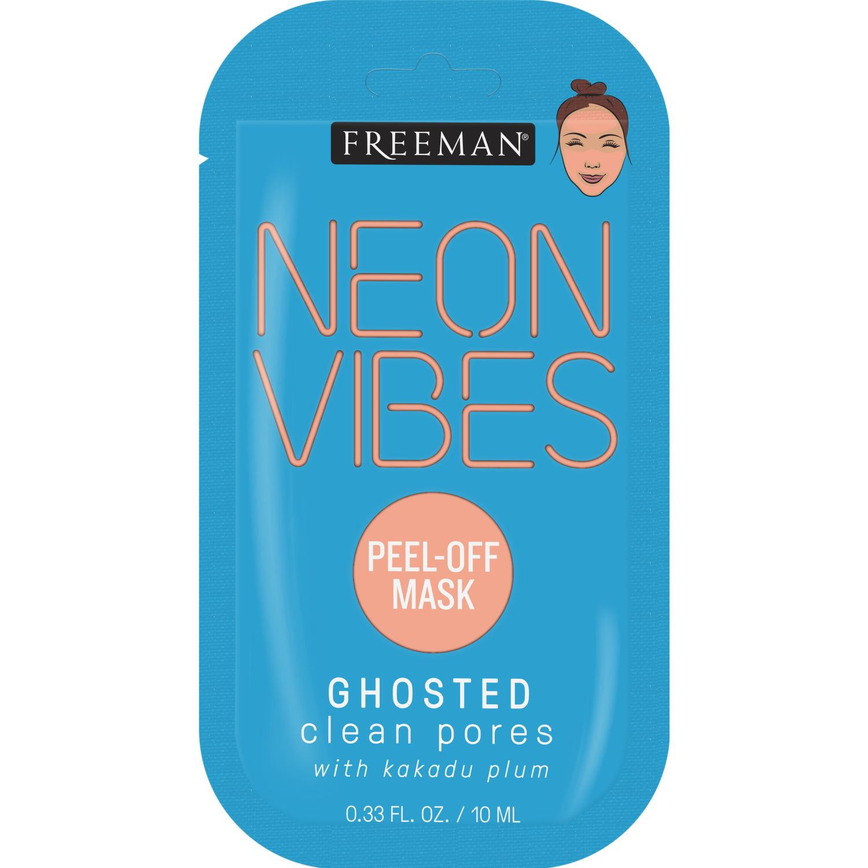 FREEMAN Mascarilla Neon Limpieza Peel-Off Celeste máscaras
