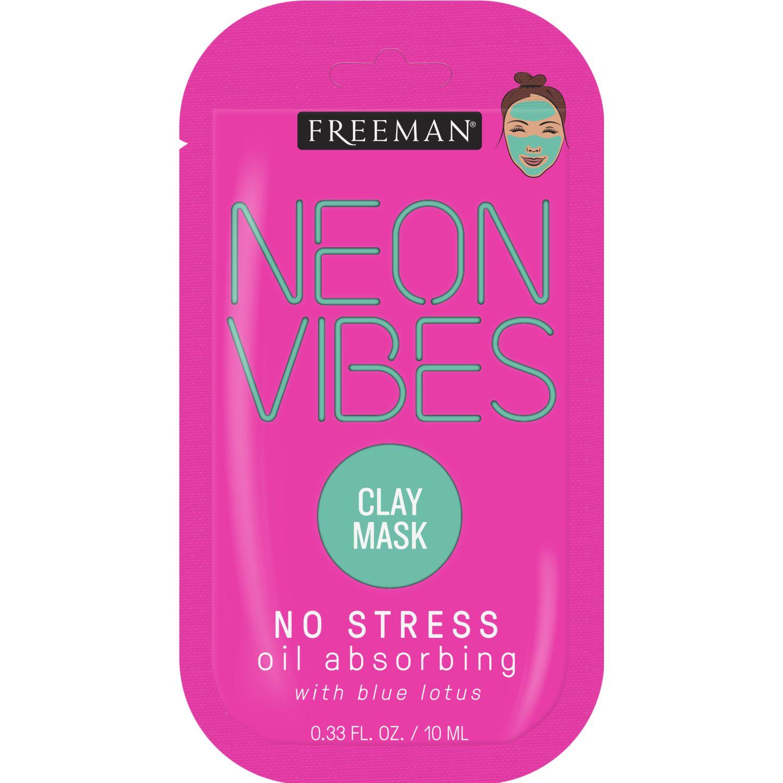 FREEMAN Mascarilla Neon Sin Stress Barro Fucsia máscaras