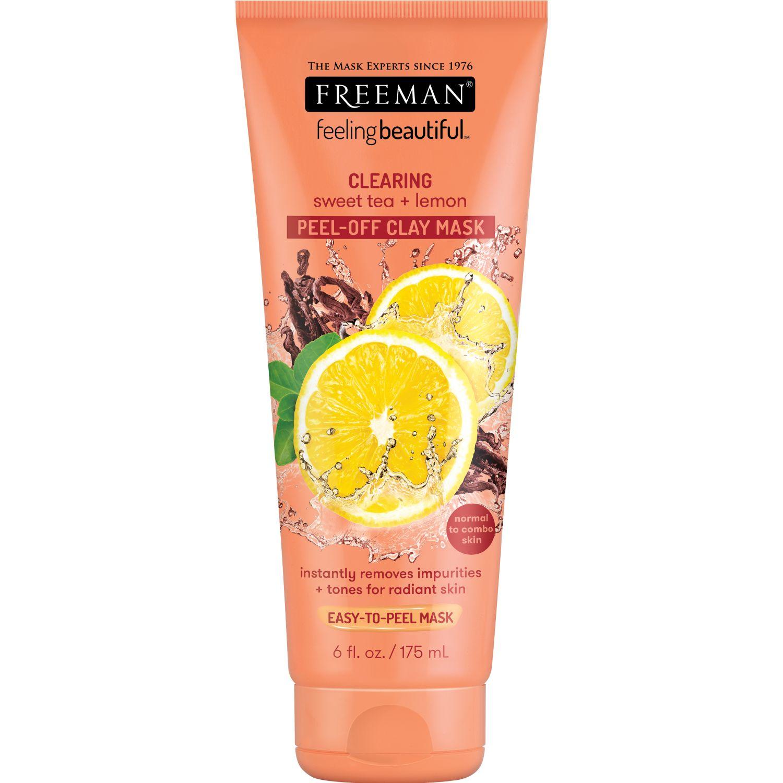 FREEMAN Mascarilla Té Dulce Y Limón 175ml Naranja Mascarillas