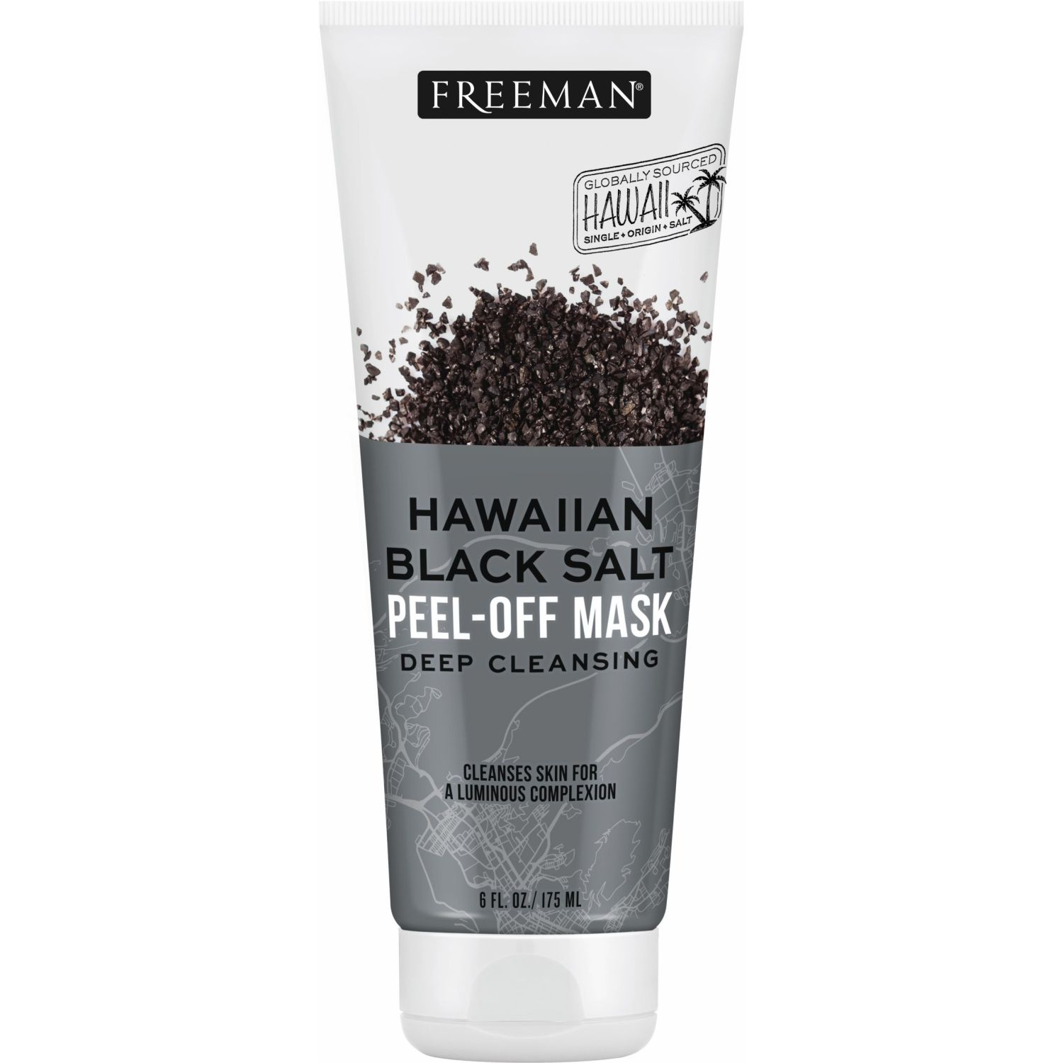FREEMAN Mascarilla Hawaiian Black Salt 175m Blanco / negro Mascarillas