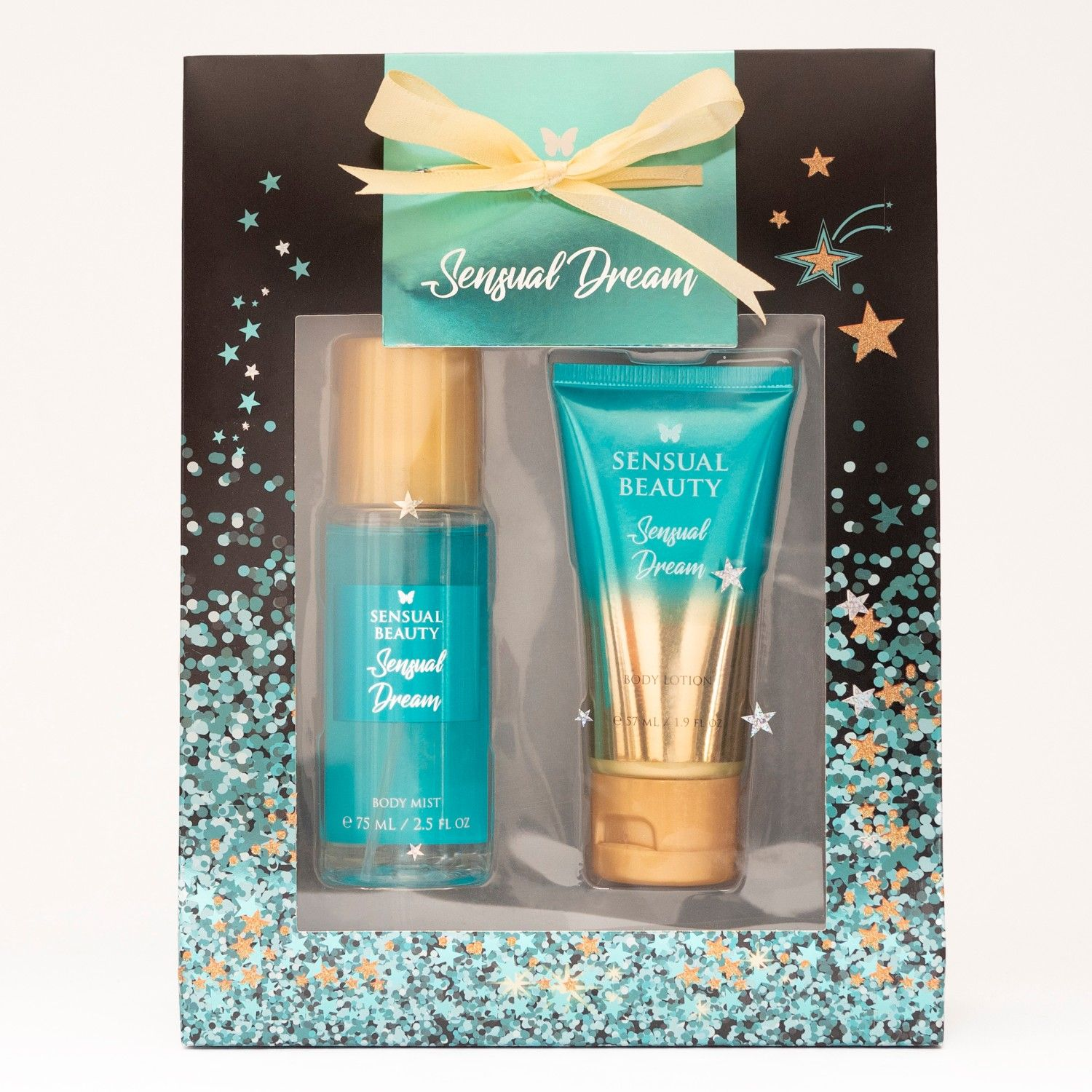 SENSUAL BEAUTY Set Bm75ml+bl57ml Sensual Dream Turquesa Mujeres