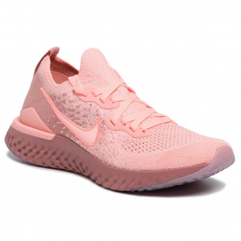 Nike WMNS NIKE EPIC REACT FLYKNIT 2 Rosado Running en pista