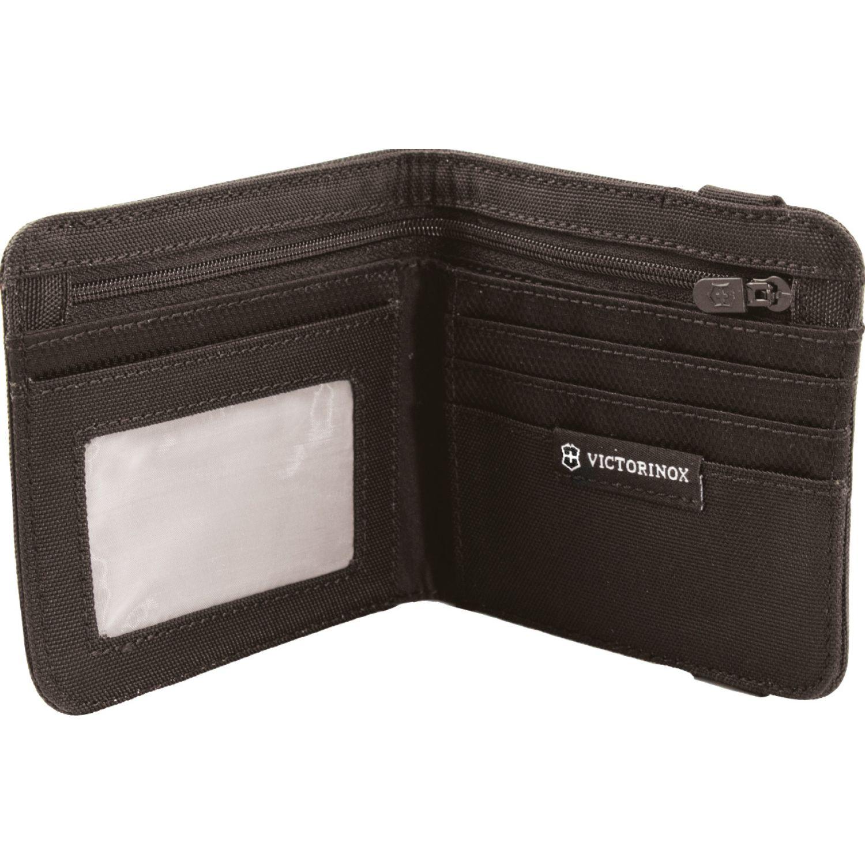 Victorinox Billetera  Bi Fold Wallet  Black Negro Billeteras