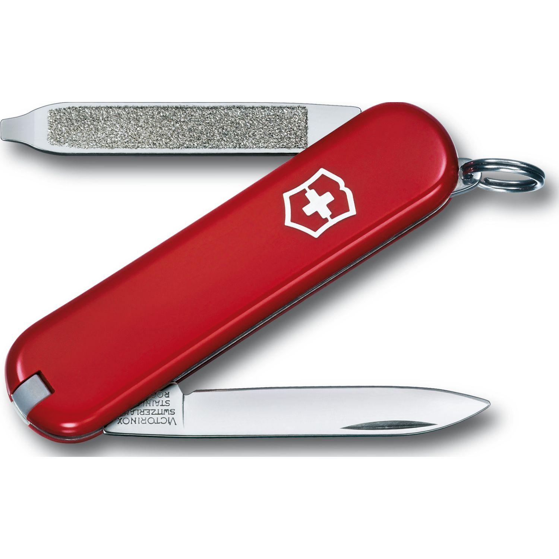 Victorinox Herramientas Multiusos Escort, Rojo Rojo Multi herramientas