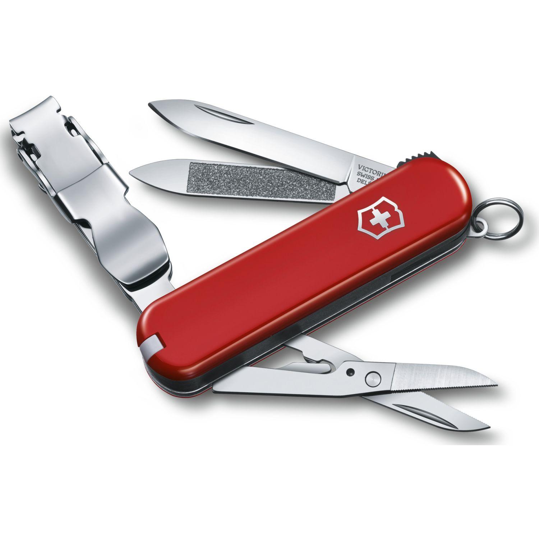 Victorinox Nailclip 580 65mm Rojo Cajita Plegable Rojo Multi herramientas