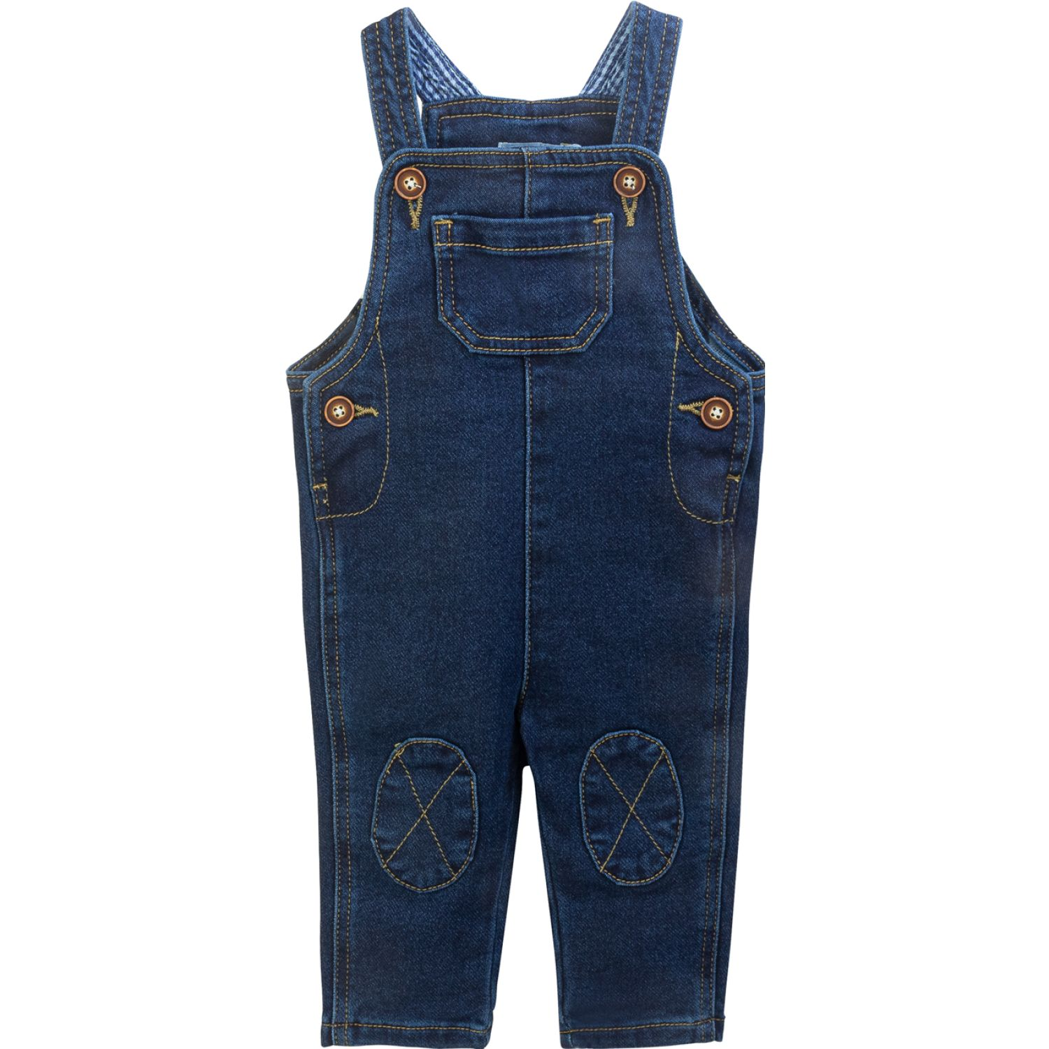 BABY CLUB CHIC Overall Jean C/Bord.Ind Azul Overoles