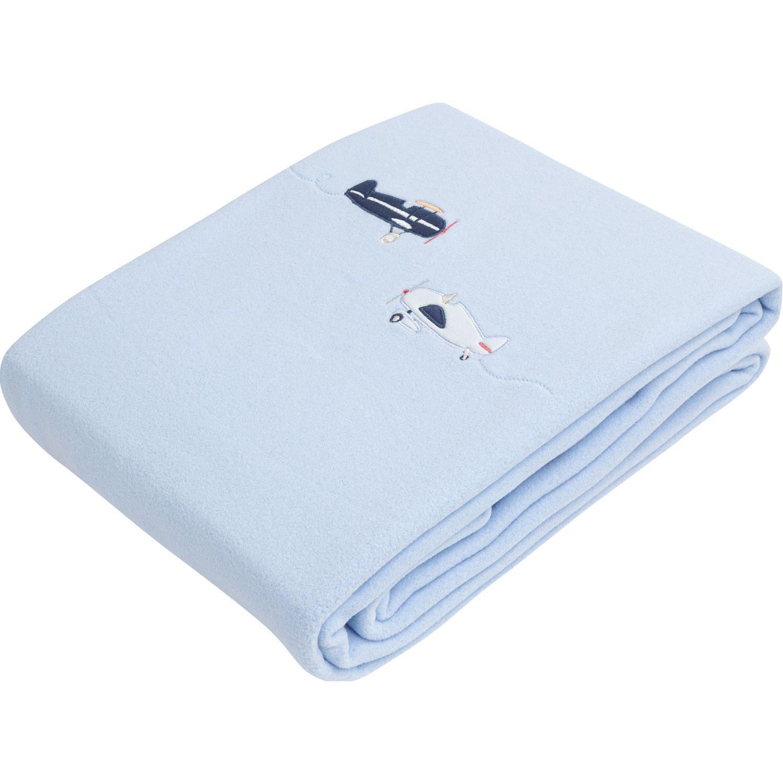 BABY CLUB CHIC Frazada Azul / celeste Cobijas para cama