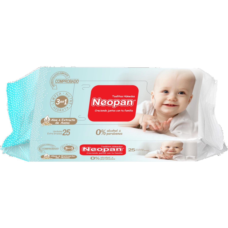 NEOPAN Neopan Toa Hum 3en1 25u Varios Paños y toallas