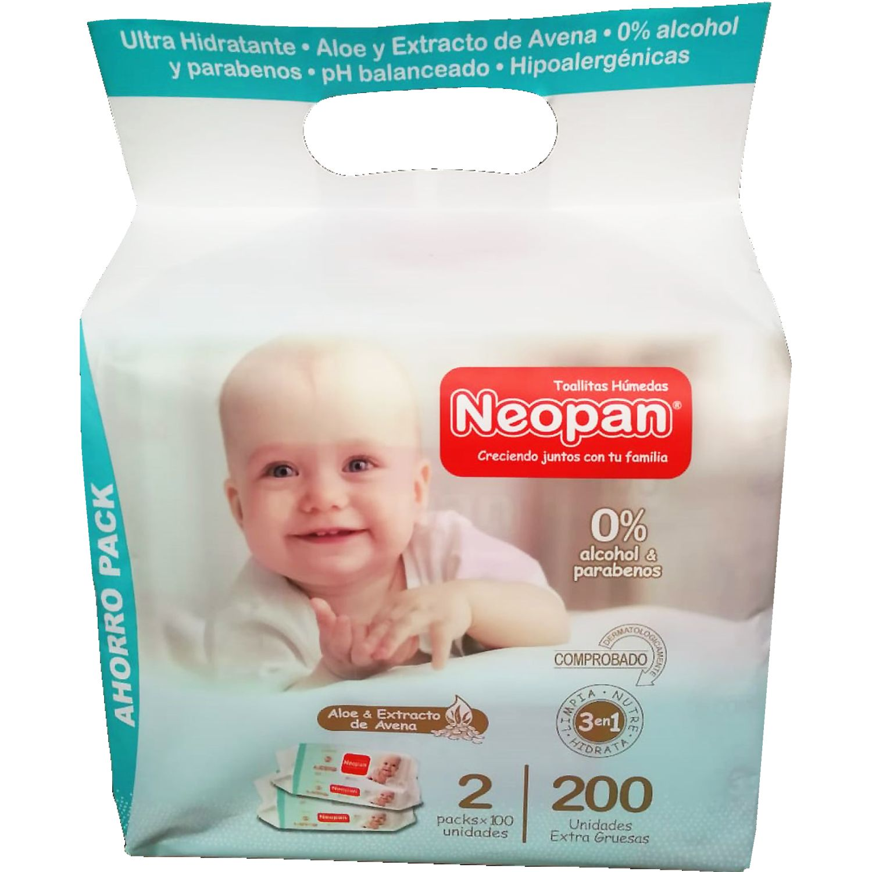 NEOPAN Neopan Toa Hum 3en1 200u Varios Paños y toallas