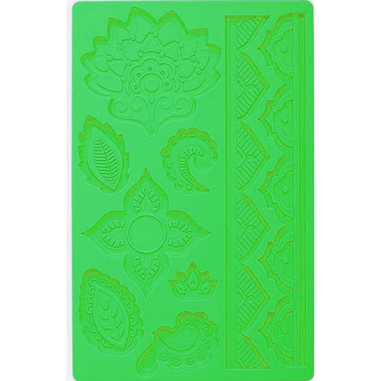 ICHIMATSU PLANCHA DE MOLDE P/TORTA FLOR AFT-A02 Verde springform