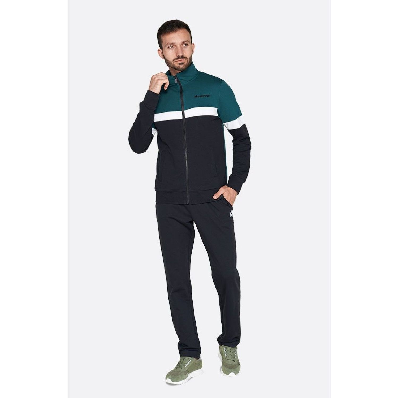 Lotto Suit Dual Ii Bs Rib Ft Verde / negro Buzos deportivos